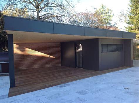 construction cuisine d été 1000 idées sur le thème garage toit plat sur