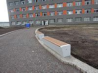 betonbank mit holzauflage betonelemente l michow und sohn gmbh