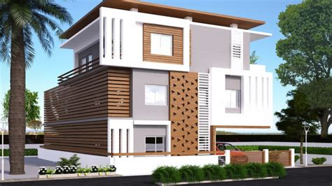 Home Design Exterior Ideas In India by Home Exterior Design G 2 Andhra Client