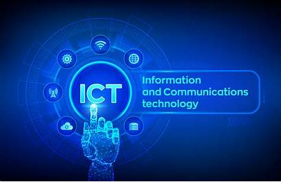 Ict Communication Technology Importance Virtual Concept Network