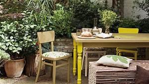 Refaire Son Jardin : repeindre du mobilier de jardin en plastique en pvc relooker c t maison ~ Nature-et-papiers.com Idées de Décoration