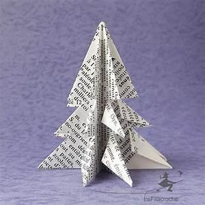 Sapin En Papier Plié : petits sapins de no l origami en papier recycl pour la ~ Melissatoandfro.com Idées de Décoration