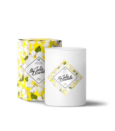 bougie de monoi bougie bague parfum 233 e mono 239 de tahiti my candle