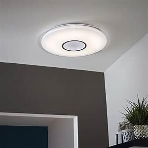Plafonnier Design Led : plafonnier design led int gr e vizzini plastique blanc 1 ~ Melissatoandfro.com Idées de Décoration