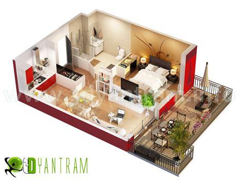 3d Floor Plan, Interactive 3d Floor Plans Design, Virtual