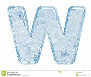 Ice font stock illustration. Illustration of freeze ...