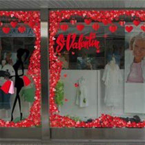 d 233 coration valentin pour vitrine de commerces retif