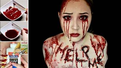 Fake Blood Halloween Easy Latex Diy Scars