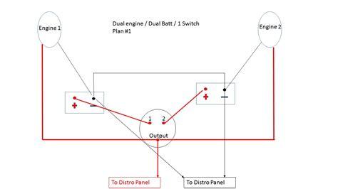 Boat Battery In Parallel by 2 Battery Vsr Boat Wiring Diagram Boat Parallel Battery