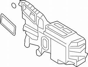 Lincoln Mkx Evaporator  And  Core  Case