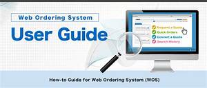 Misumi Web Ordering System User Guide