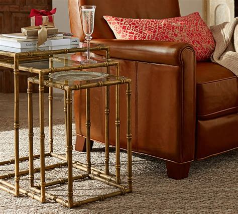 Pottery Barn Nesting Tables by Tabulous Design Nesting Tables
