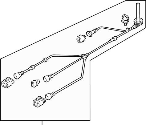 Volkswagen Tiguan Abs Wheel Speed Sensor Wiring Harness
