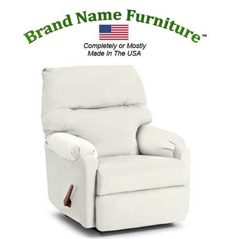white recliner chair rocker