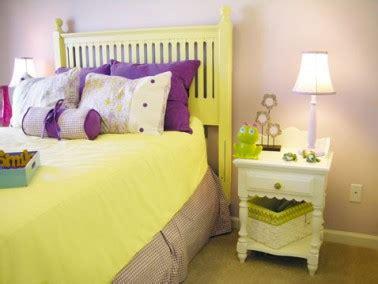 idee couleur chambre fille idee peinture chambre fille couleur jaune violet