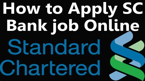 how to apply standard chartered bank application