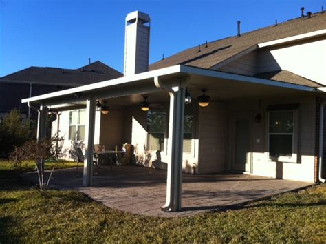 insulated roof panels aluminum patio cover in tx