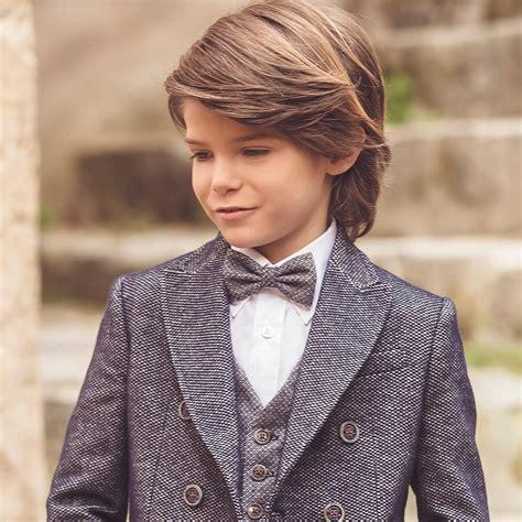 cool  charming boys long hairstyles   kid