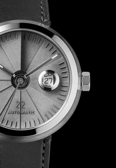 4D Concrete Watch Automatic - Signature Edition Stainless