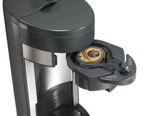 Because of the modular design of the k cup holder, you just need to make sure when you place the k. Hamilton Beach Flexbrew Single Serve Coffee Maker Manual