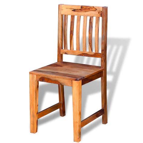 sedie sala da pranzo vidaxl sedie sala da pranzo 6 pz in legno massello di