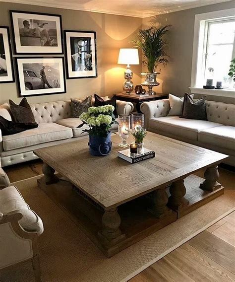 Ideas For Living Room Coffee Tables by Two Coffee Tables Put Together Decor Living