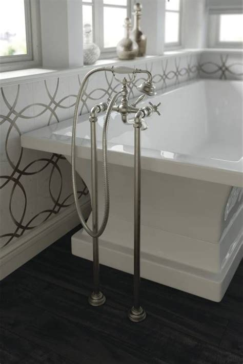 Target Bathroom Fixtures by Floor Mounted Tub Fillers Provide A Touch Of World