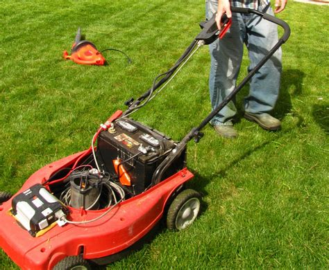 My Electric Lawn Mower Named
