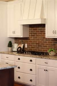 brick kitchen backsplash picture of practical andstylish brick kitchen backsplashes 21