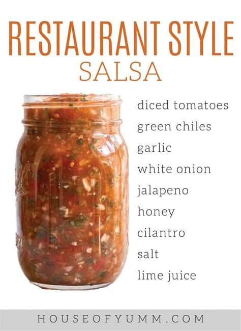 As a result, you have less water in your final product. Easy Homemade Salsa   Recipe   Homemade salsa, Restaurant style salsa, Easy homemade salsa