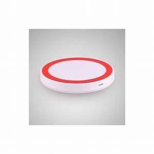 Recharge Telephone Sans Fil : station de recharge sans fil qi universel smartphone blanc et rouge ~ Dallasstarsshop.com Idées de Décoration