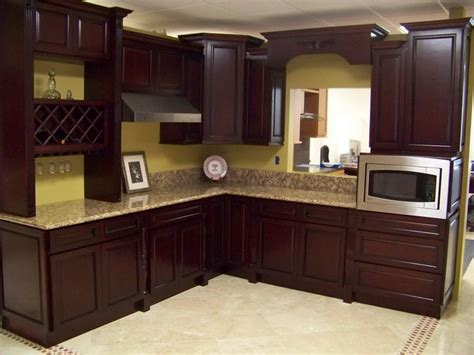kitchen color schemes with dark cabinets house stuff
