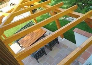 Terrassenüberdachung Günstig Selber Bauen : terrassendach holz selber bauen ~ Frokenaadalensverden.com Haus und Dekorationen