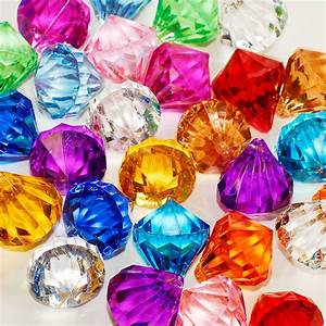 Assorted Pirate Gems Diamonds Jewels Party Favor ...