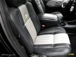 Black  Silver Interior 2003 Ford F150 Harley