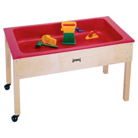 how to sand a table 50 off jonti craft sensory table w lid 0285jc
