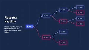 Multi-level Tree Diagram Powerpoint
