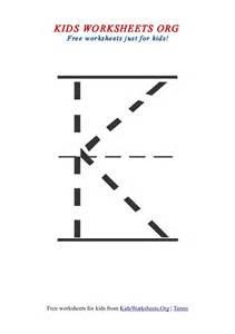 letter k tracing printable worksheets letter k worksheets org