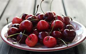 One dish food, red cherry, fruit wallpaper | other ...