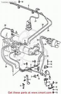 Honda Accord 1985  F  4dr Sei  Ka  Tubing  Pgm