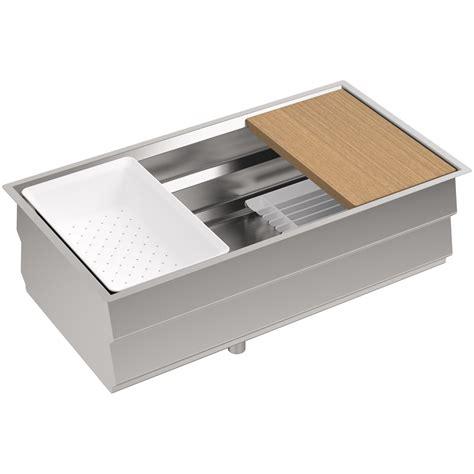 kitchen sink with kohler k 5540 na prolific 33 undermount single bowl