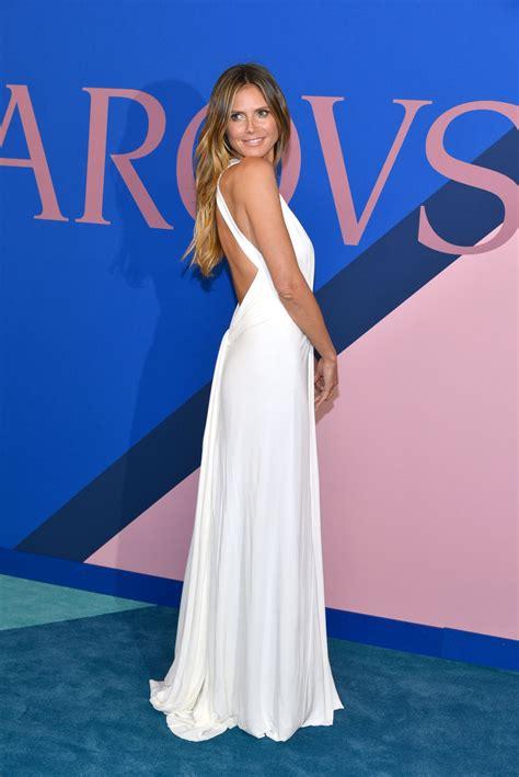 Heidi Klum Red Carpet Cfda Fashion Awards New York