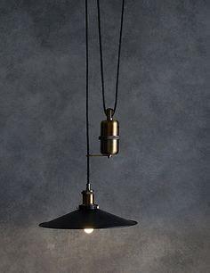 original btc cobb rise fall pendant light originals