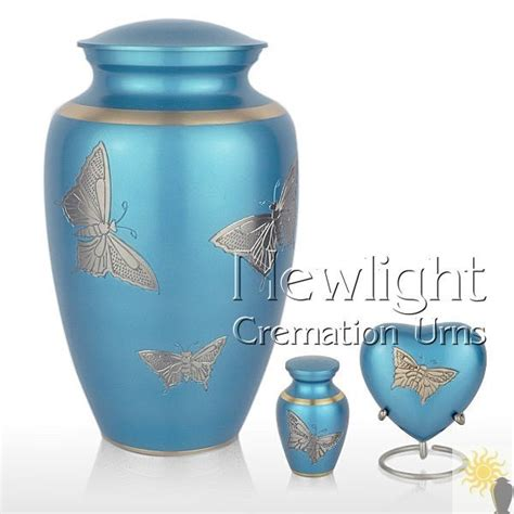 pewter butterfly cremation urns urns  ashes
