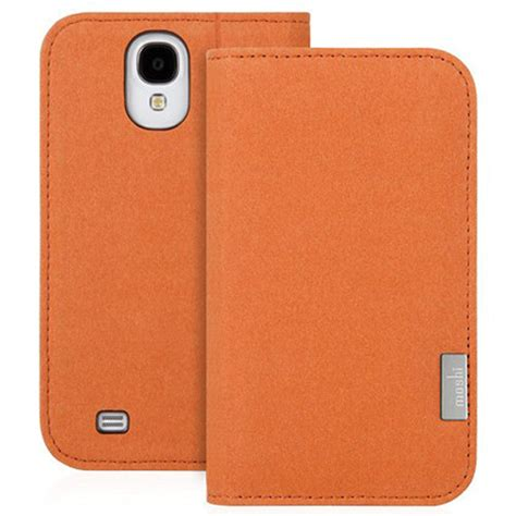 moshi phone cases moshi overture for samsung galaxy s4 tangerine