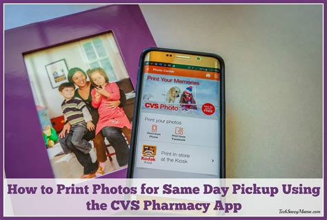 cvs print photos from phone how to print photos for same day using the cvs