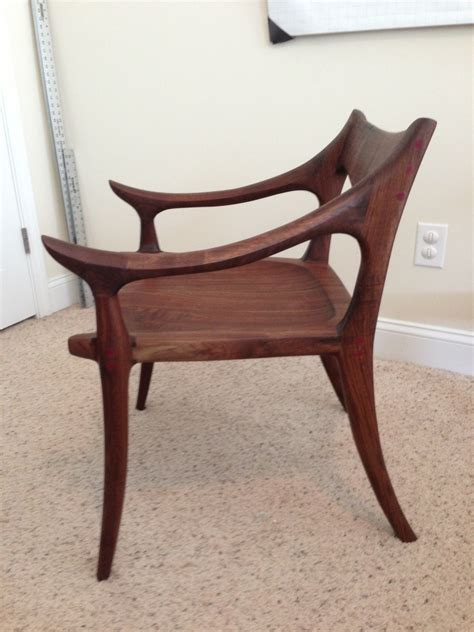 maloof inspired   chair  wood whisperer