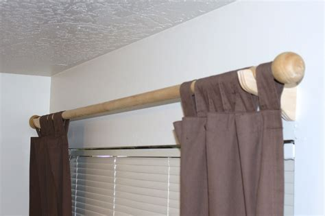 Bed Bath And Beyond Curtain Rods Double by Curtains Wood Rods Curtain Menzilperde Net