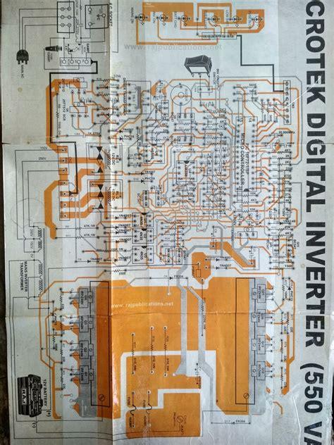 pure sinewave inverter diagram microtek digital inverter