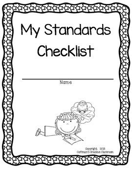 Indiana Standards- 6th Grade Checklist by Coffman's